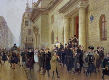 Leaving the Lycee Condorcet, 1903 Festmény reprodukció