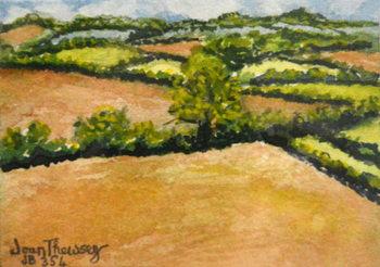 Little Suffolk Landscape,2000 Festmény reprodukció