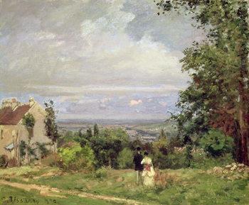 Louveciennes, 1870 Festmény reprodukció