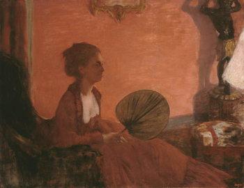 Madame Camus, 1869-70 Festmény reprodukció