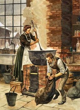 Madame Curie Festmény reprodukció