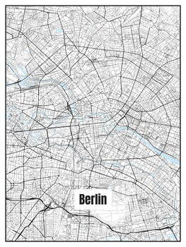 Ábra Map of Berlin