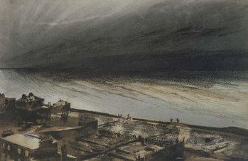 Marine-Terrace, Jersey, 1855 Festmény reprodukció