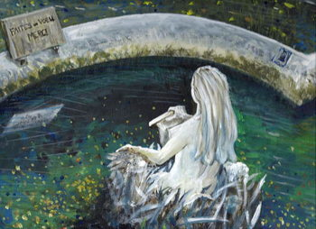 Mermaid of Laignes, 2006, Festmény reprodukció