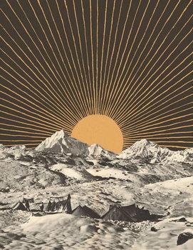 Mountainscape 6 Festmény reprodukció