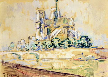 Notre Dame, 1885 Festmény reprodukció