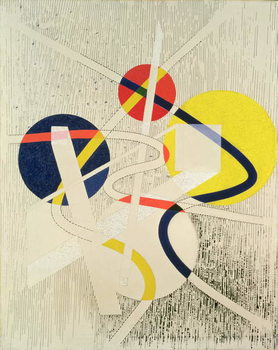 Nuclear Space, 1946 Festmény reprodukció