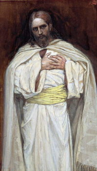 Our Lord Jesus Christ, illustration for 'The Life of Christ', c.1886-94 Festmény reprodukció