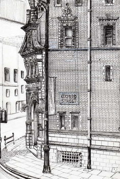 Palace Hotel,Oxford Street, Manchester, 2012, Festmény reprodukció