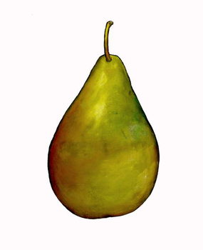 pear Festmény reprodukció