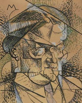 Portrait of Edouard Gazanion, 1912 Festmény reprodukció