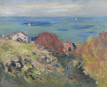 Pourville, 1882 Festmény reprodukció