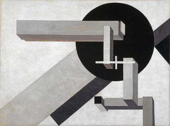 Proun 1 D, 1919 Festmény reprodukció