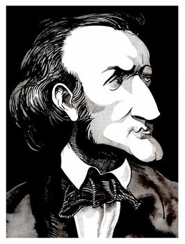 Richard Wagner, by Neale Osborne Festmény reprodukció