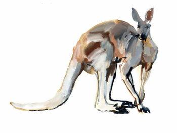 Roo, (Red Kangaroo), 2012, Festmény reprodukció