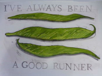 Runner Beans,2013 Festmény reprodukció