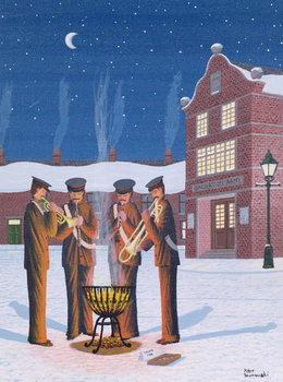Salvation Army Festmény reprodukció