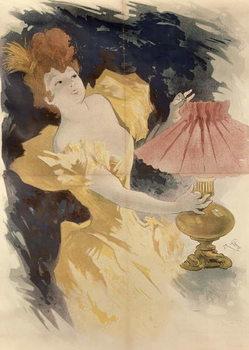 Saxoleine , France 1890's Festmény reprodukció
