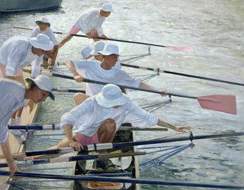 Securing Oars, Henley Festmény reprodukció