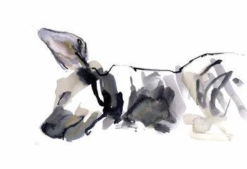 Sleeping Hyaena, 2010, Festmény reprodukció