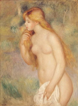 Standing Bather, 1896 Festmény reprodukció