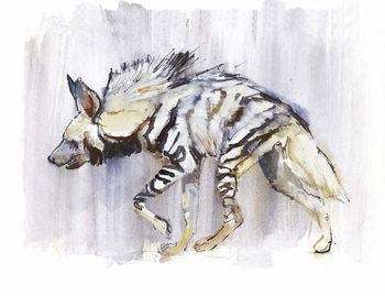 Striped Hyaena, 2010, Festmény reprodukció
