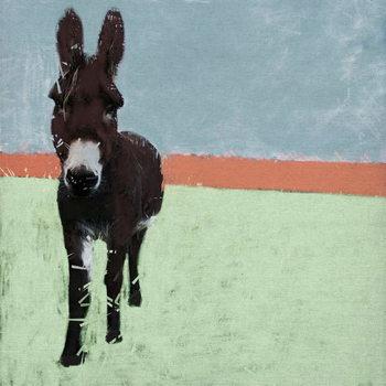 Sussex Donkey, 2019, Festmény reprodukció