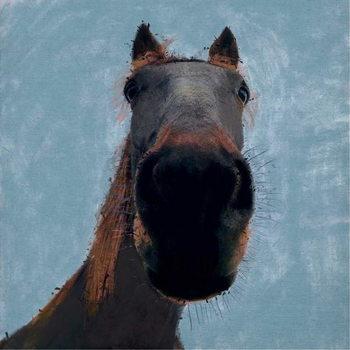Sussex Horse, 2019, Festmény reprodukció