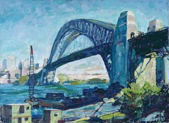 Sydney Harbour Bridge, 1995 Festmény reprodukció