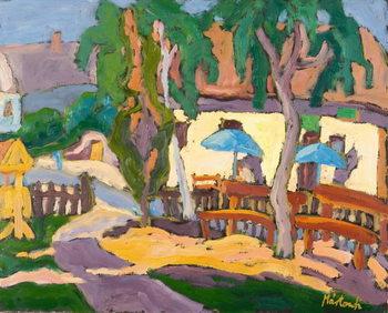 Tavern front, 2007 Festmény reprodukció