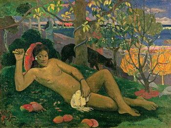 Te Arii Vahine , 1896 Festmény reprodukció
