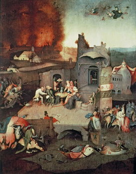 Temptation of Saint Anthony, c.1500 Festmény reprodukció