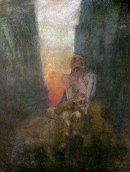 The Abyss, 1899 Festmény reprodukció