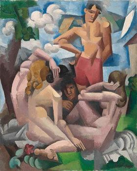 The Bathers, 1912 Festmény reprodukció