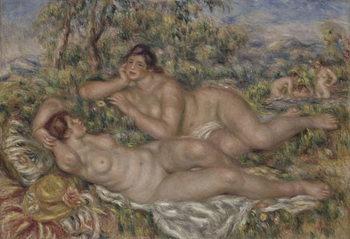 The Bathers, c.1918-19 Festmény reprodukció
