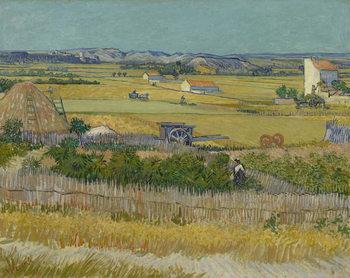 The Harvest, 1888 Festmény reprodukció