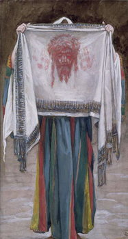 The Holy Face, illustration for 'The Life of Christ', c.1884-96 Festmény reprodukció