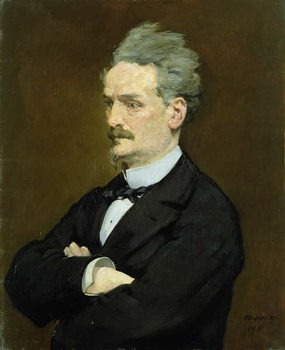 The Journalist Henri Rochefort (1830-1913), 1881 Festmény reprodukció