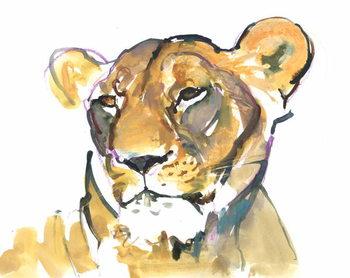 The Lioness Festmény reprodukció