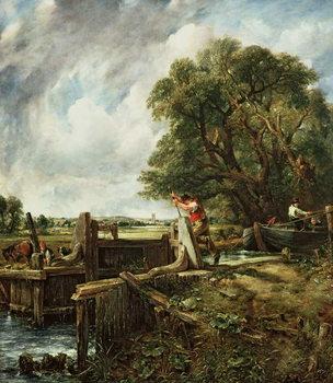 The Lock, 1824 Festmény reprodukció