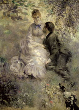 The Lovers, c.1875 Festmény reprodukció