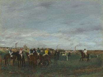 The Races, 1871-2 Festmény reprodukció