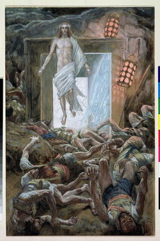 The Resurrection, illustration for 'The Life of Christ', c.1886-94 Festmény reprodukció