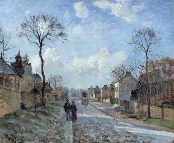 The Road to Louveciennes, 1872 Festmény reprodukció