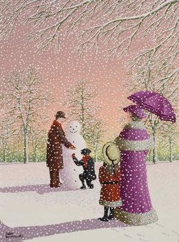 The Snowman Festmény reprodukció