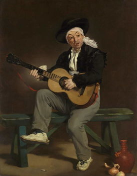The Spanish Singer, 1860 Festmény reprodukció