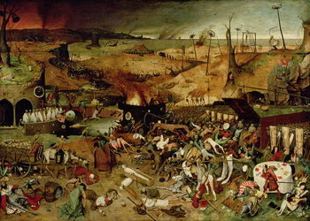 The Triumph of Death, c.1562 Festmény reprodukció