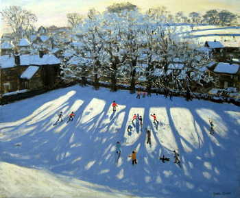 Tideswell Derbyshire Festmény reprodukció