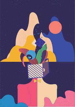 Unleash your Creativity, 2018, Festmény reprodukció