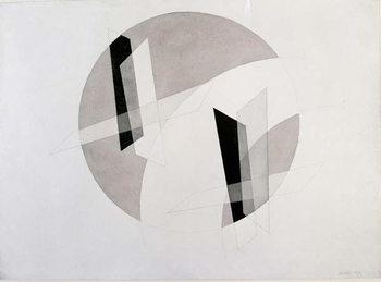 Untitled Mixed Media by Laszlo Moholy-Nagy (Moholy Nagy)  New York, Museum of Modern Art Festmény reprodukció